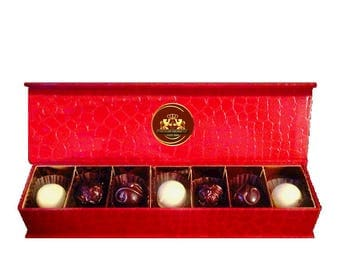 Chocolate Truffles - Jewelry Box