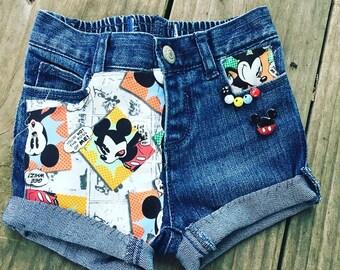 Mickey comic style