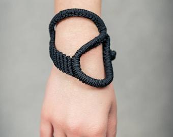 Macrame black festive fashioned Bracelet