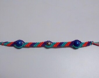 Classic Friendship Bracelet with Beads