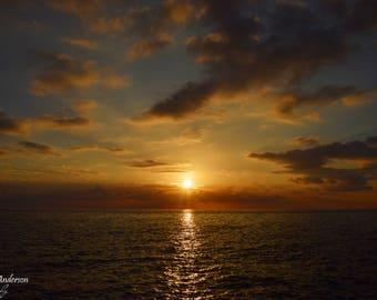 The midnight Sun 20 x 30