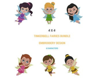 Tinkerbell Embroidery Designs | Tinkerbell Machine Embroidery Design | Tinkerbell Full Filled Embroidery Design | Tinkerbell Fairy