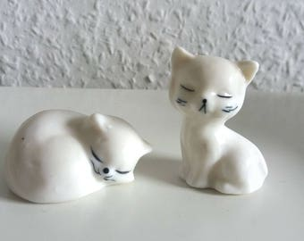 Vintage cat pair 70s kittens couples cats