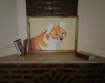 Drawing box Fox