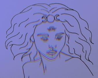 Third Eye 3d Art Print