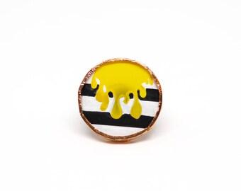 "Ring ""Dripping Yellow"""