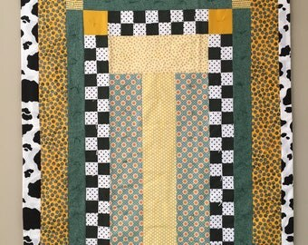 Baby Quilt: Contemporary