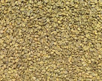 5 lbs, Green Coffee Beans, Mexico, 100% Arabica