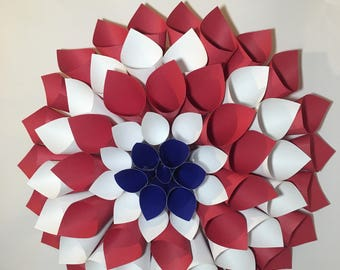 July 4th party decorations- Wreath