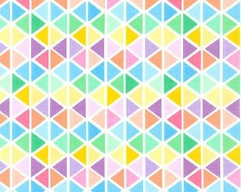 Fat Quarter Rainbow Remix - Sweet by Robert Kaufman Cotton Quilting Fabric