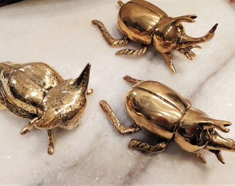 Gold Brass Insects