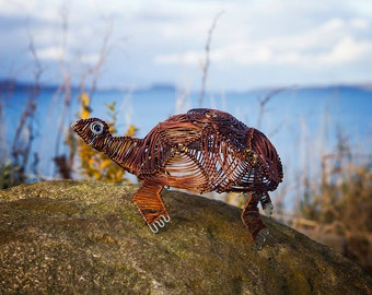 Copper wire tortoise