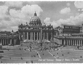 St. Peter's square, the Basilica