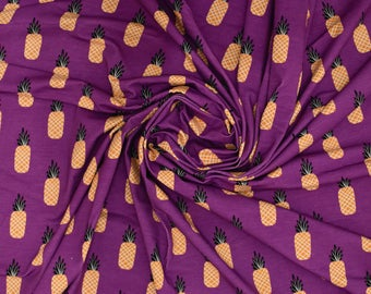 Pineapple Jersey (260gsm, 94/6 Cotton/Elastane) *UK*