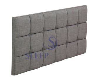 5FT Kingsize Oslo Upholstered Headboard - Choose Any Fabric, Also Available In Various Heights