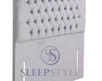 """3FT 50"""" High Single Classic Upholstered Headboard - Choose Any Fabric"""