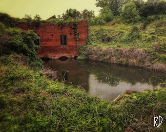 11x14 Poster Urban Exploration: Abandoned Mill