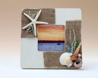Starfish/seashell frame