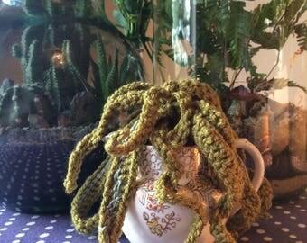 Twirly Whirly Crochet Plant