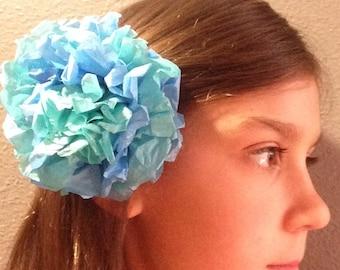 Tissue Paper Flower Hair Pin