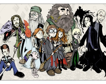 Harry Potter (Signed Print)