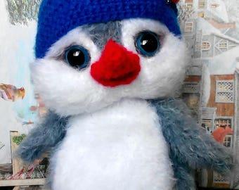 Crochet toy penguin
