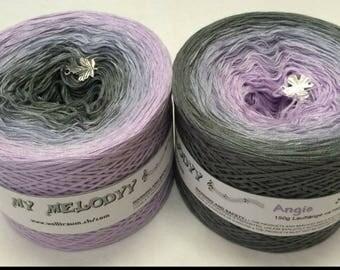 Wolltraum Angie 3 Ply Gradient Yarn