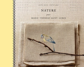 NATURE of Marie-Thérèse Saint Aubin cross stitch book