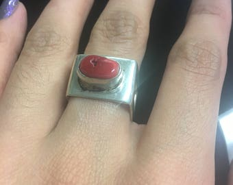 Square ring size 7