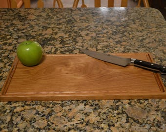 "White Oak Cutting Board - 18.5"" x 9.5"" x .75"""