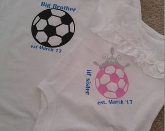 Big Brother/ little sister shirts