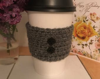 Coffee and tea cup cozys