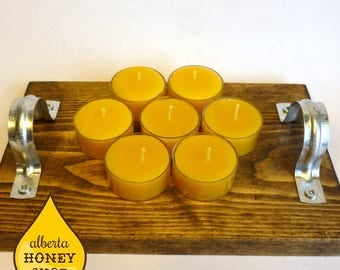 Beeswax Tealights  (6 pack)