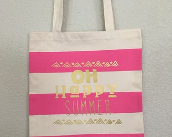 Oh happy summer bag