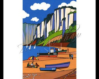 Seaton Hole, Mounted Giclee Print