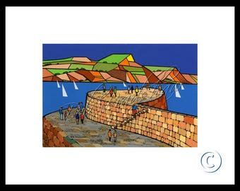 The Cobb, Mounted Giclee Print