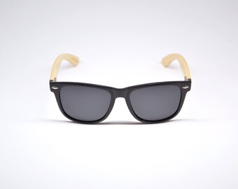 THE DRIVER (Bamboo Sunglasses / glasses of bamboo) by Yen Fashion Co.