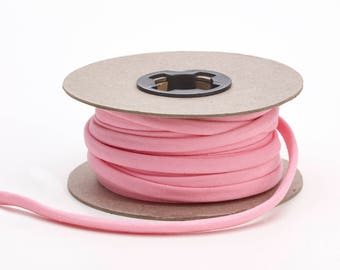 Broadcloth spaghetti, 1/4-inch Wide, 15 yds, Pink