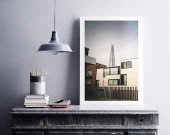 The Shard from Bermondsey   *Unframed Print*