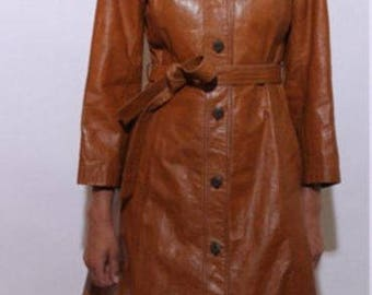 Vintage western 70's trench jacket.