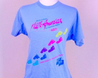 Vintage 90's Vaporwave Fun Run Tee