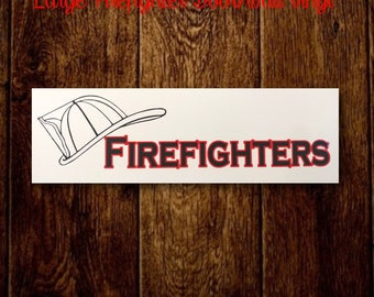 Firefighter Wall/Door Decal