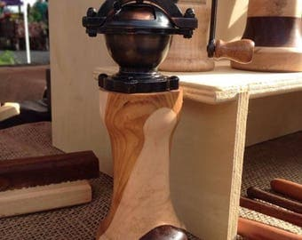 Antique peppermill