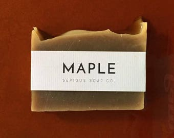 Maple Soap - 100% all natural soap