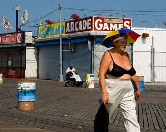 Coney Island Sunday Morning