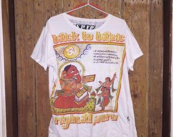 90s Exotic/Cultural Hindu Elephant Tee Womens M Mens S