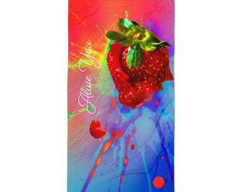Alive You – Colorful Beach Towel