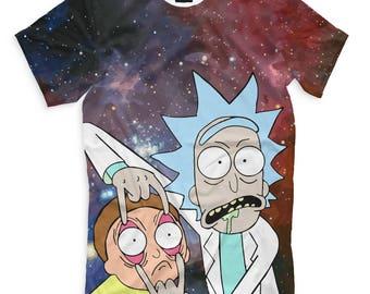 Rick And Morty Men's Women's T-Shirt Tank Top Sleeveless