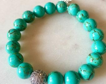 semi precious gemstones bracelet