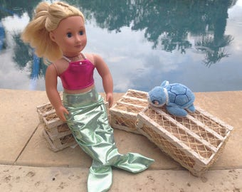 18 inch doll Mermaid Outfit